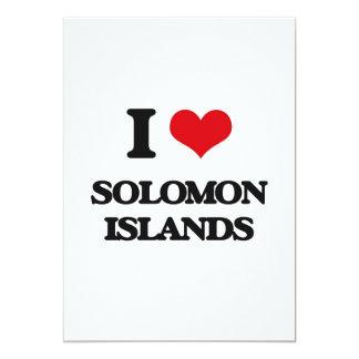 Amo Solomon Island Invitaciones Personalizada