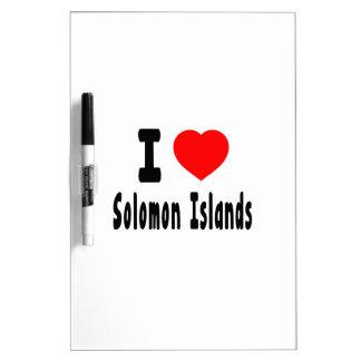 Amo Solomon Island. Tableros Blancos