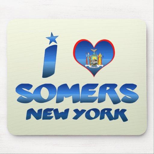 Amo Somers, Nueva York Alfombrilla De Raton