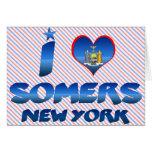 Amo Somers, Nueva York Tarjeta