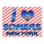 Amo Somers, Nueva York Tarjeta Postal