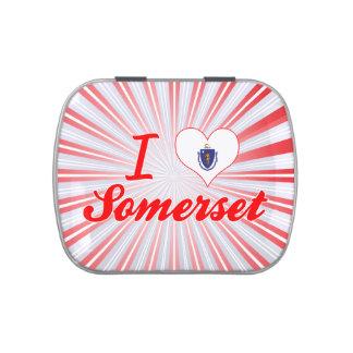 Amo Somerset, Massachusetts Latas De Dulces