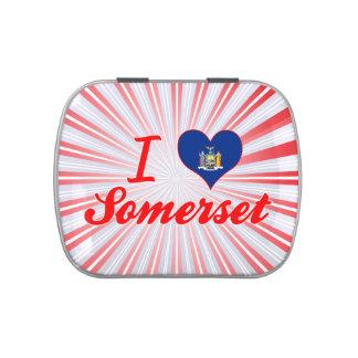 Amo Somerset, Nueva York Latas De Dulces