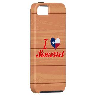 Amo Somerset, Tejas iPhone 5 Funda