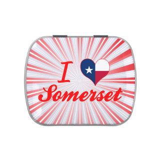 Amo Somerset, Tejas Jarrones De Dulces
