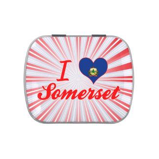 Amo Somerset, Vermont Jarrones De Caramelos