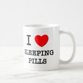 Amo somníferos taza de café