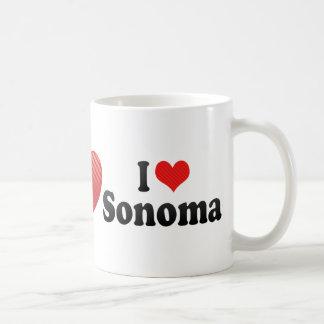 Amo Sonoma Tazas De Café