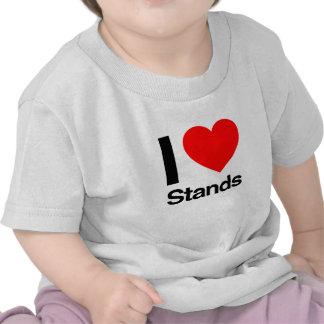amo soportes camisetas