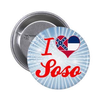 Amo Soso Mississippi Pins