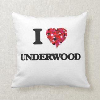 Amo sotobosque almohadas