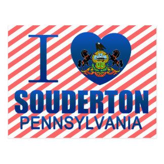 Amo Souderton, PA Tarjetas Postales