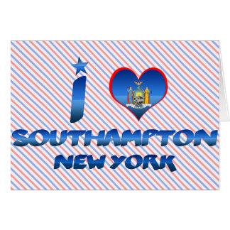 Amo Southampton, Nueva York Felicitación