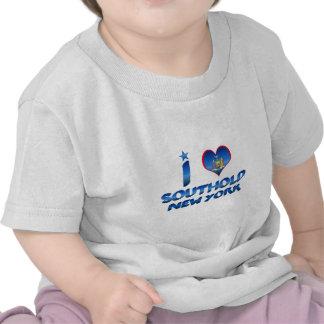 Amo Southold, Nueva York Camisetas