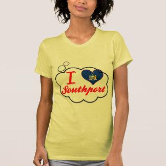 Amo Southport Nueva York Camisetas
