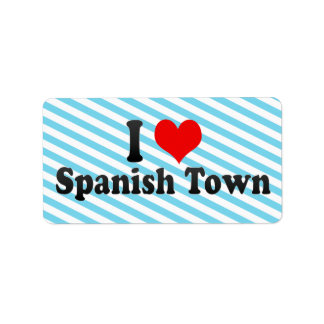Amo Spanish Town Jamaica Etiquetas De Dirección
