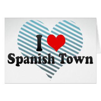 Amo Spanish Town Jamaica Felicitación