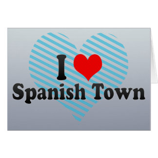 Amo Spanish Town Jamaica Tarjeton