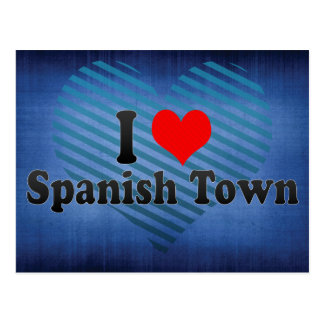 Amo Spanish Town, Jamaica Postales