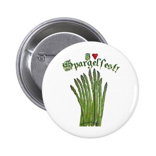¡Amo Spargelfest! Pins