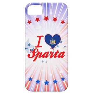 Amo Sparta, Nueva York iPhone 5 Case-Mate Coberturas