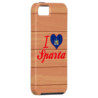 Amo Sparta, Nueva York iPhone 5 Cárcasas