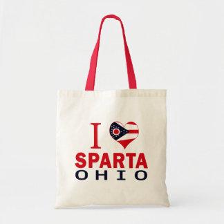 Amo Sparta Ohio Bolsa Lienzo