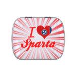 Amo Sparta, Tennessee Jarrones De Caramelos