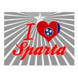 Amo Sparta, Tennessee Tarjetas Postales