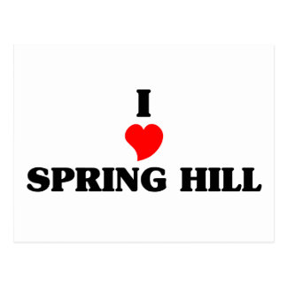 Amo Spring Hill Tarjeta Postal