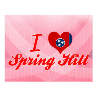 Amo Spring Hill, Tennessee Postales