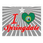 Amo Springdale, Washington Postales