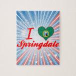 Amo Springdale, Washington Rompecabezas