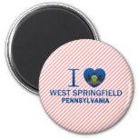 Amo Springfield del oeste, PA Imanes De Nevera