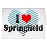 Amo Springfield, Estados Unidos Felicitacion