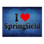 Amo Springfield, Estados Unidos Postal