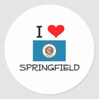 Amo Springfield Minnesota Etiquetas