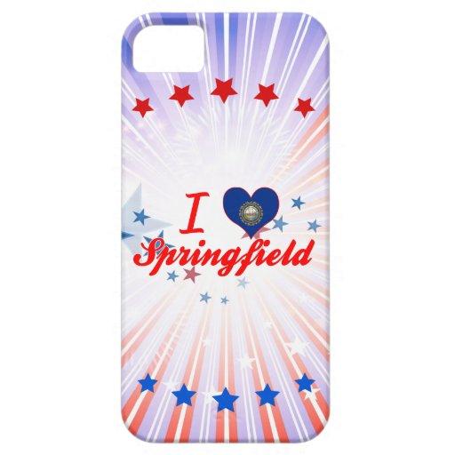 Amo Springfield, New Hampshire iPhone 5 Fundas