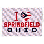 Amo Springfield, Ohio Felicitacion