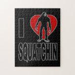 ¡Amo Squatchin! Rompecabezas Con Fotos