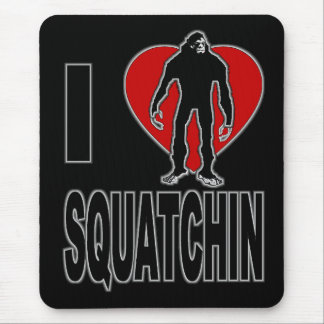 ¡Amo Squatchin! Tapetes De Ratón