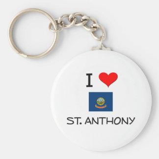 Amo ST ANTHONY Idaho Llavero Personalizado