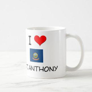 Amo ST ANTHONY Idaho Tazas De Café