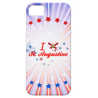 Amo St Augustine, la Florida iPhone 5 Case-Mate Funda