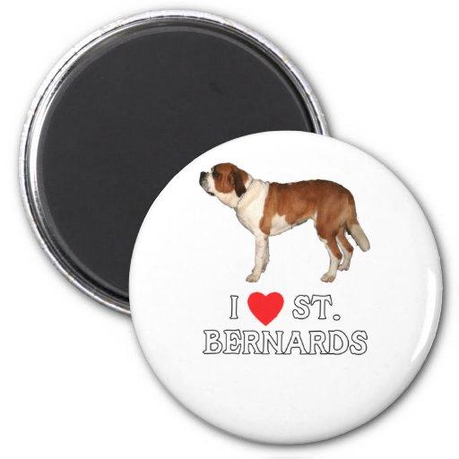 Amo St. Bernards Imán