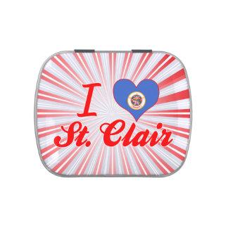 Amo St. Clair, Minnesota Latas De Caramelos