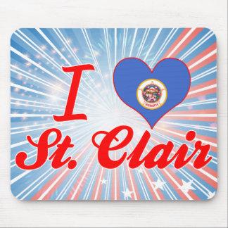 Amo St. Clair, Minnesota Tapetes De Raton