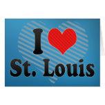 Amo St. Louis Felicitaciones