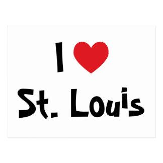 Amo St Louis Tarjeta Postal