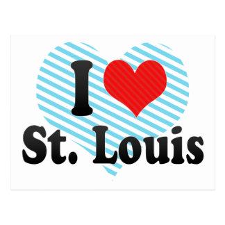 Amo St. Louis Tarjetas Postales
